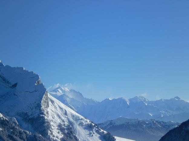 Le Mont Blanc fume