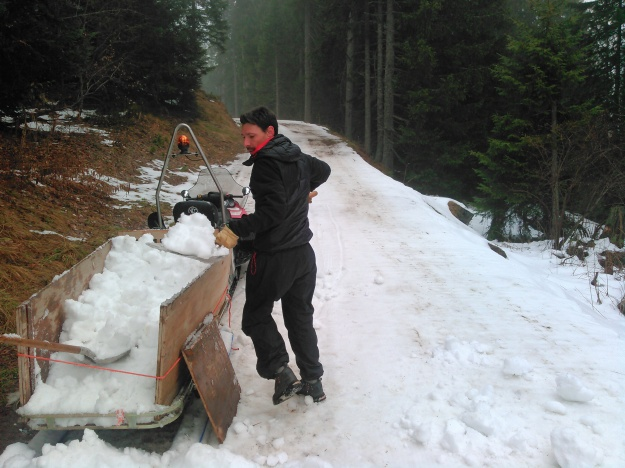 Traîneau à neige