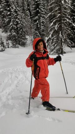 On a même vu des skieurs heureux ;-)