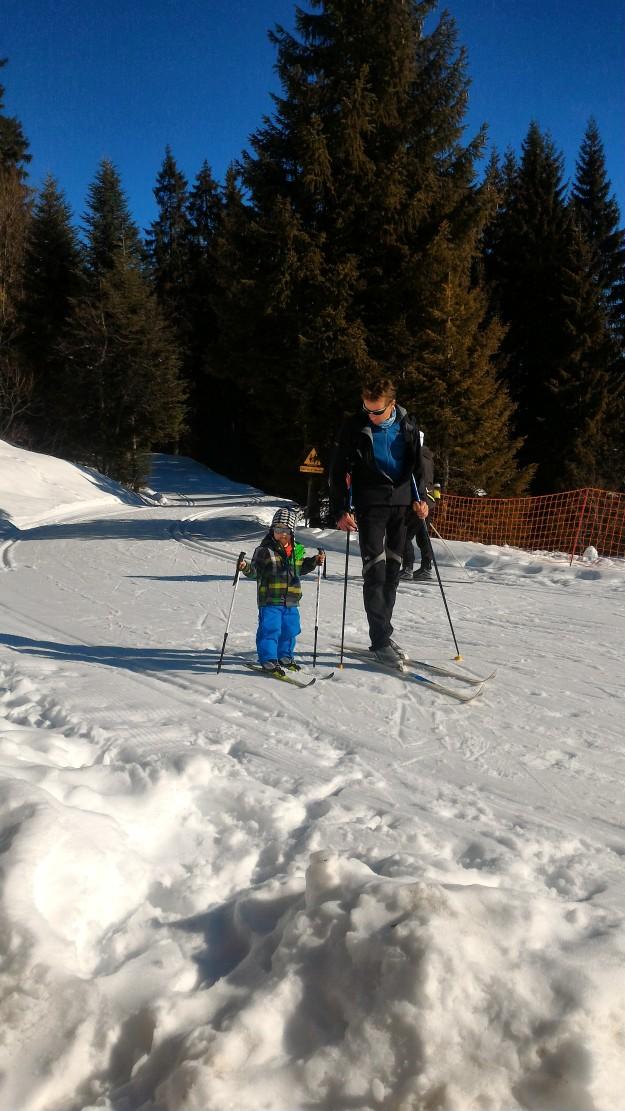 Pisteur Ski de fond.