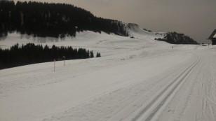 Grand foehn au pays du Mont Blanc et vent chaud sur le plateau de Beauregard.
