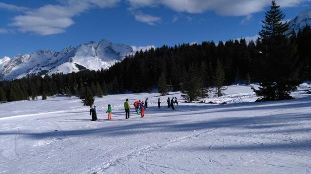 Ski de fond dans les Crulets