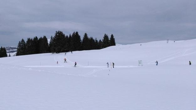 ski de fond sur le domaine nordique de Beauregard