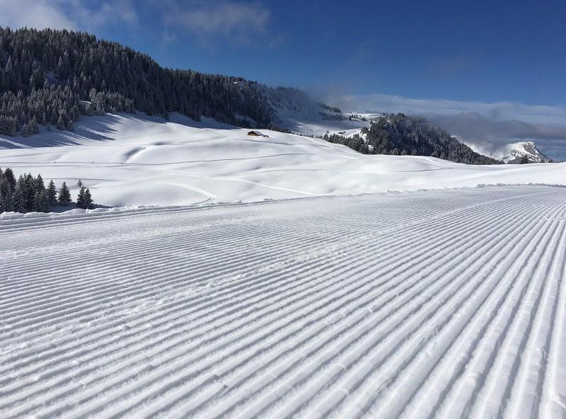 Pistes de ski de fond du domaine nordique de Beauregard