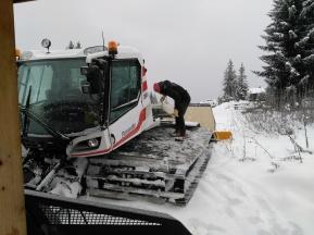 Entretien dameuse ski nordique à Beauregard