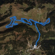 tracé provisoire à 09,09 km.