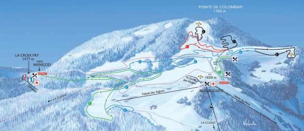 nouveau plan des pistes de ski de fond